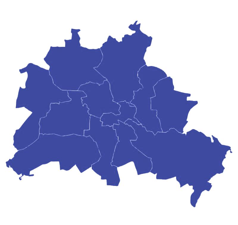 Studentenkraft-Berlin Karte-Sperrmüllentsorgung Sperrmüllabholung Berlin