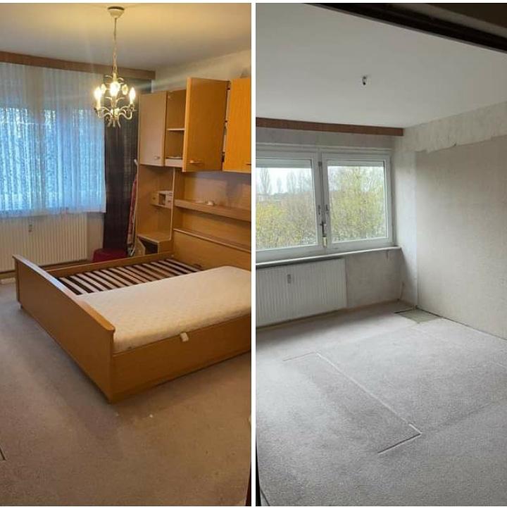 1_0000_Wohnungsauflösung Berlin - Schrankbett entsorgen